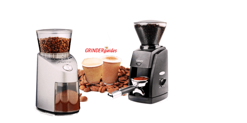 comparision-baratza encore vs capresso infinity coffee grinder