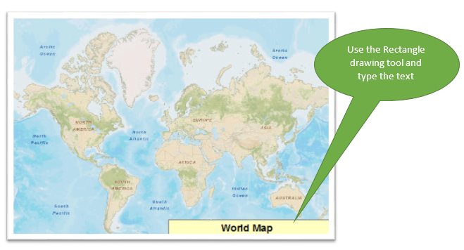 draw the box to hide esri base map text