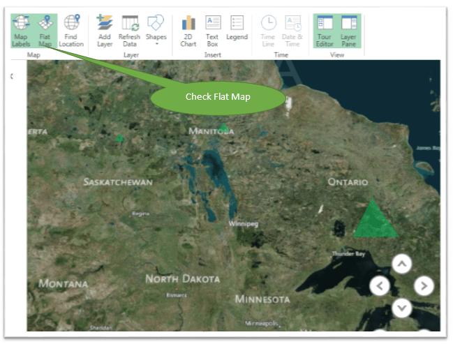 Flat Map option