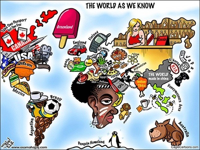 Funny World Map