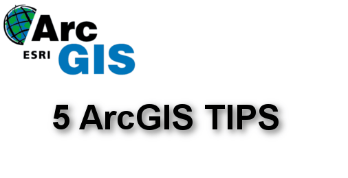 arcgis tips