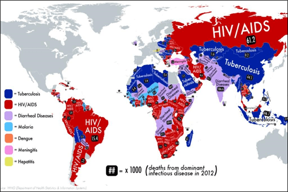 Infectious Disease Map