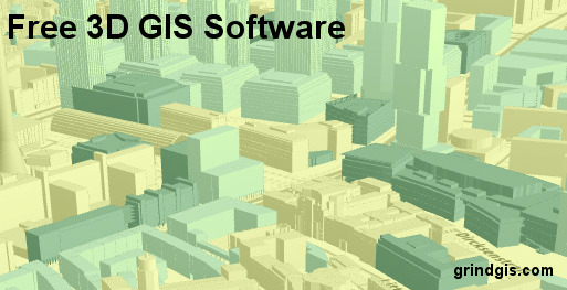 Open Source GIS List for 3D Map on