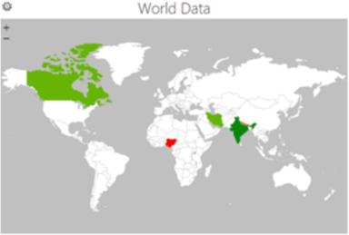 How to create a geographical heat map in excel map in excel world gumiabroncs Gallery