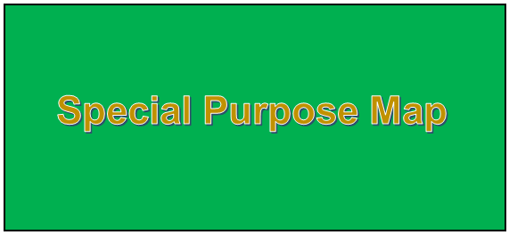 Special Purpose Map Definition What is Special Purpose Map – Definition in Geography