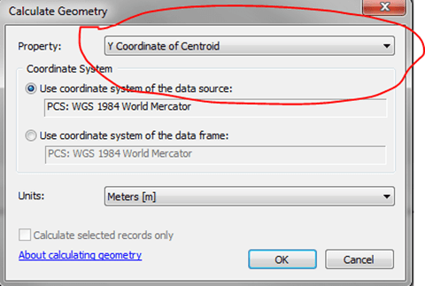 How to calculate the centroid of a polygon in ArcGIS: