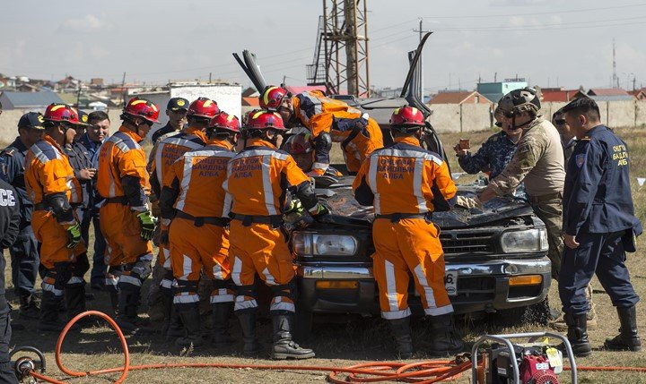 Application of GPS in disaster management