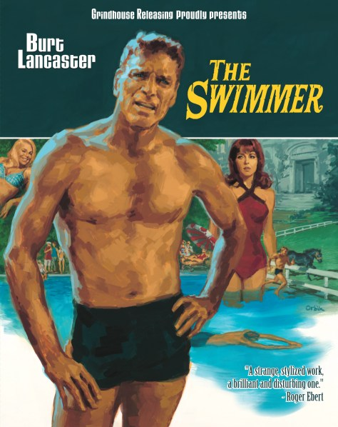 The Swimmer 1968 3 disc set 2 blu ray cd soundtrack embossed slipcover