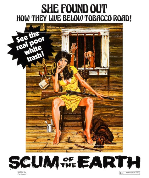 Scum of the Earth / Poor White Trash Part 2 movie poster. Directed by S.F. Brownrigg