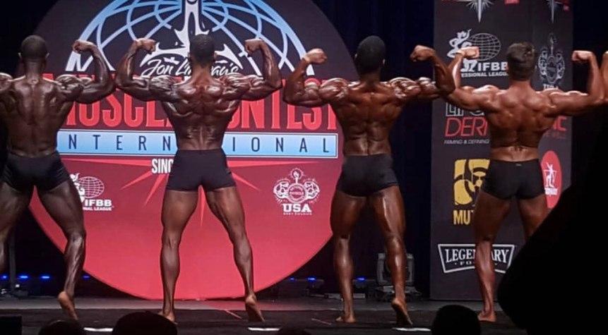 Los Angeles Championship NPC 2018 Men´s Classic Physique Rodney Crayton back double biceps