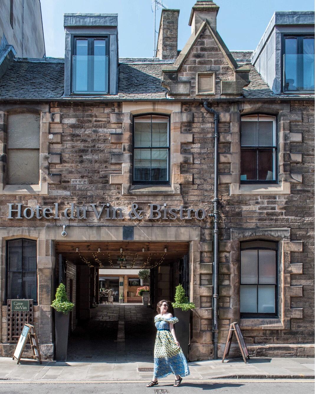 HOTEL DU VIN: HISTORIC BOUTIQUE IN OLD TOWN EDINBURGH
