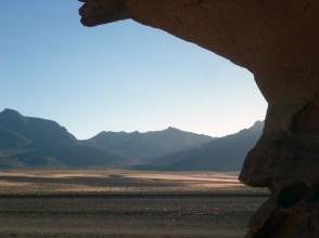 Under the shade of El Arbol de Piedra (Rock tree). source: gringoinbolivia
