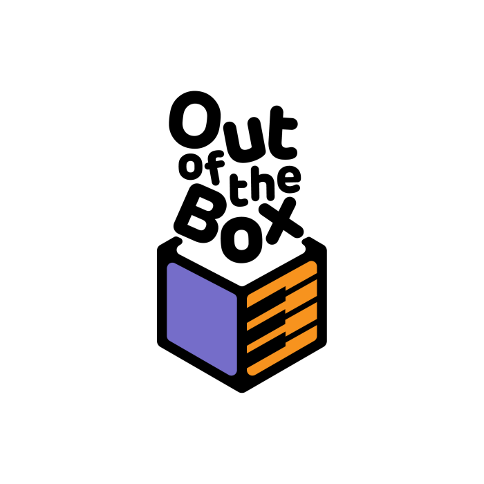 Out Of The Box main Logo Design