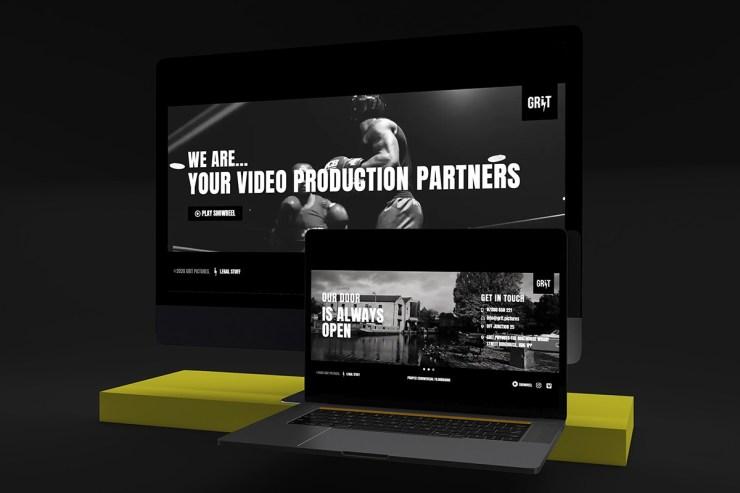 Multimedia Web Design for Corporate Video Production Company
