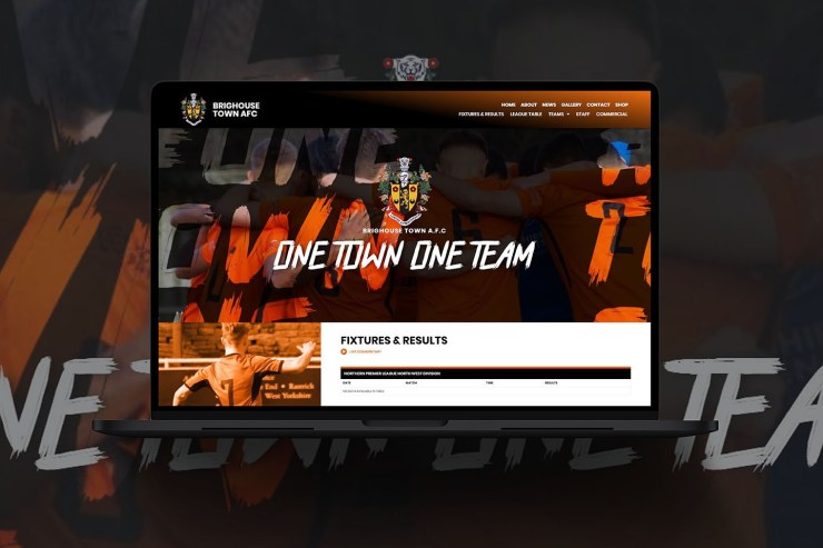 Web Design for Football Club