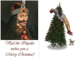 Vlad the Impaler Christmas Card