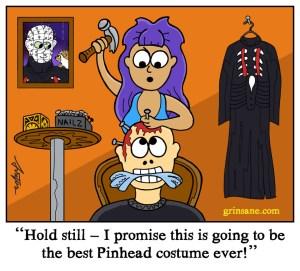 Halloween Pinhead Hellraiser costume