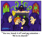 Children in Church of Cthulhu Lovecraft