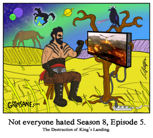 Dothraki Khal Drogo Heaven Afterlife Cartoon
