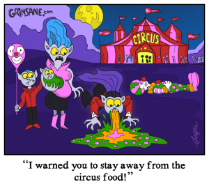 Circus Food Cartoon