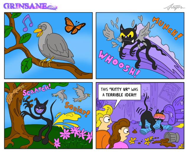 Kitty VR Cartoon