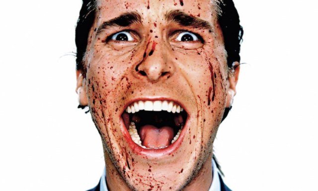 American Psycho smile