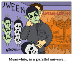 Halloween Michael Myers Kirk Spock Cartoon