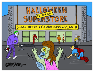 Halloween Superstore Carton