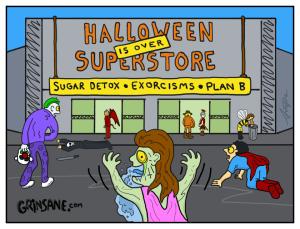 Halloween Superstore Carton