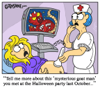 Baby Scan Ultrasound Cartoon