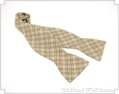 Photo of The Adler Plaid Bow Tie