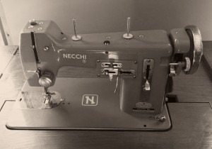 Photo of a Necchi BU Mira sewing machine