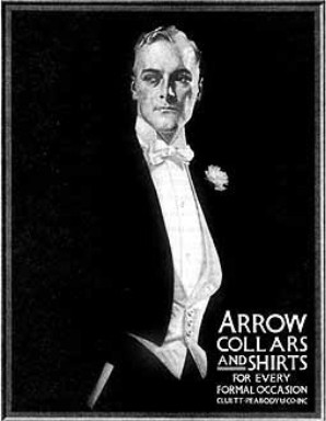 Arrow Collars & Shirts Illustration by J.C. Leyendecker