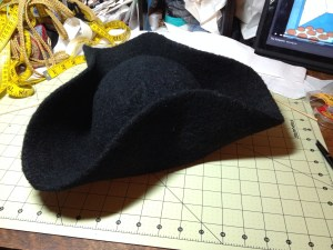 Photo of Shaped Tricorn Hat
