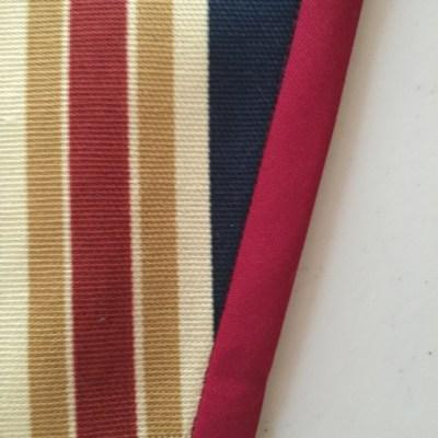 Photo of Half inch binding on jacket facing