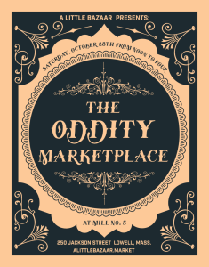 Flyer for The Oddity Marketplace 2017
