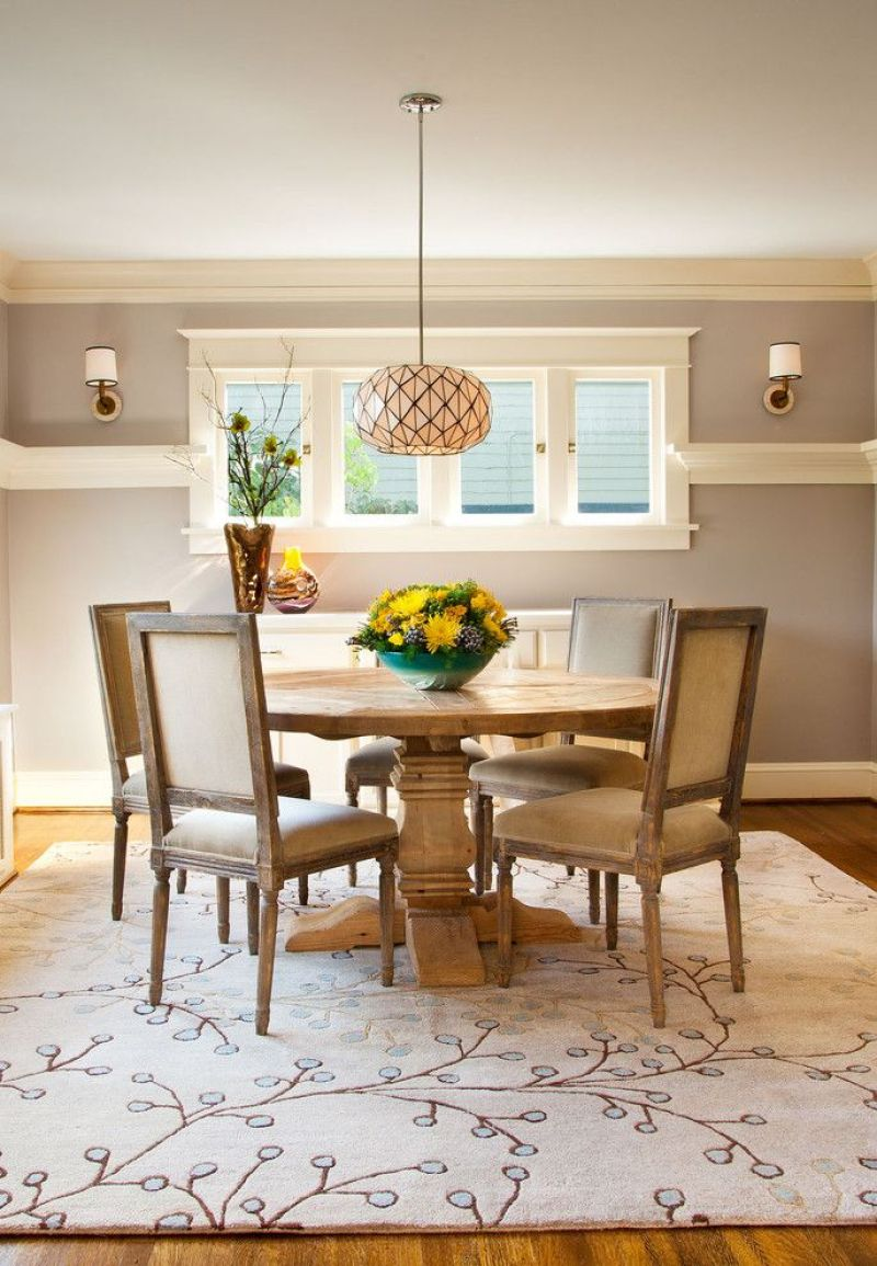 30 best chair rail ideas pictures decor and remodel for Benjamin moore monterey white