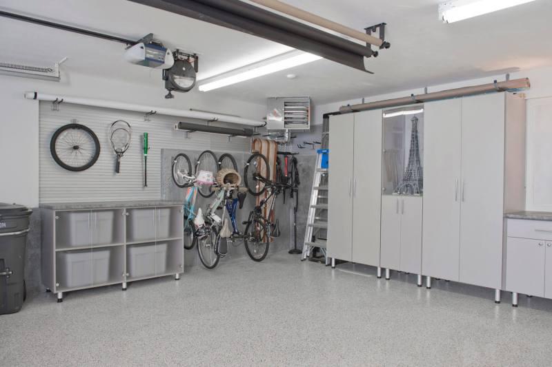 wall shelf ideas for garage