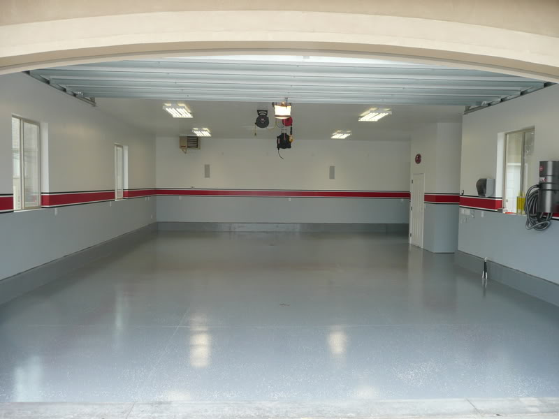 garage gym lighting ideas