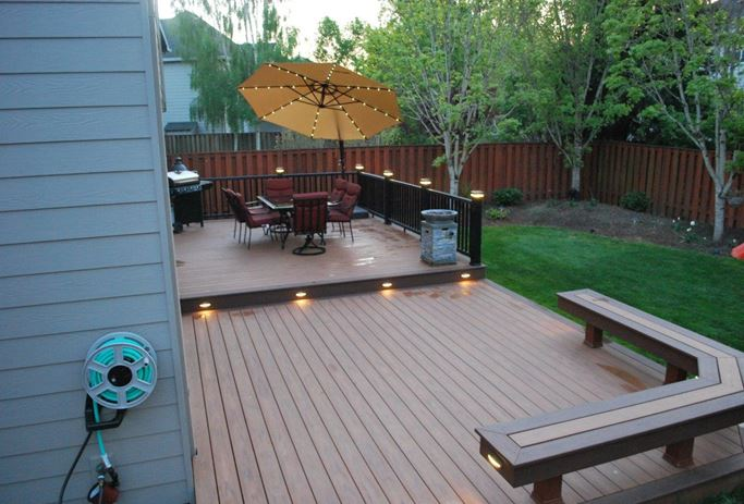 Lovely Small Deck Ideas Part - 9: Small Deck Landscaping Ideas