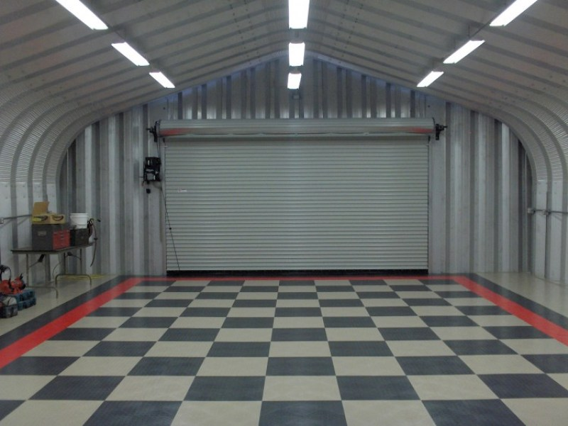 modern garage lighting ideas