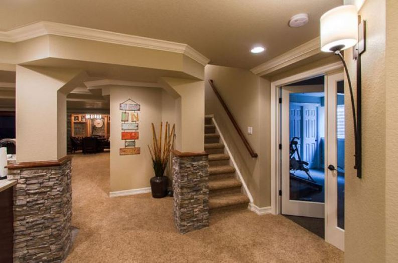 small walkout basement ideas
