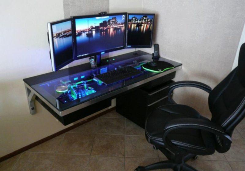 DIY Gaming Computer Desk