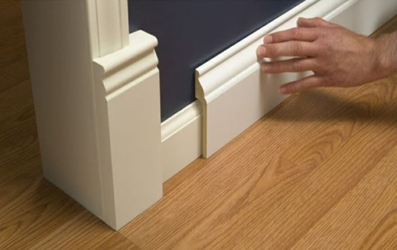 baseboards molding styles