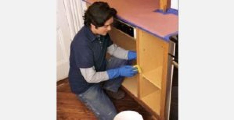 painting kitchen cabinets young house love