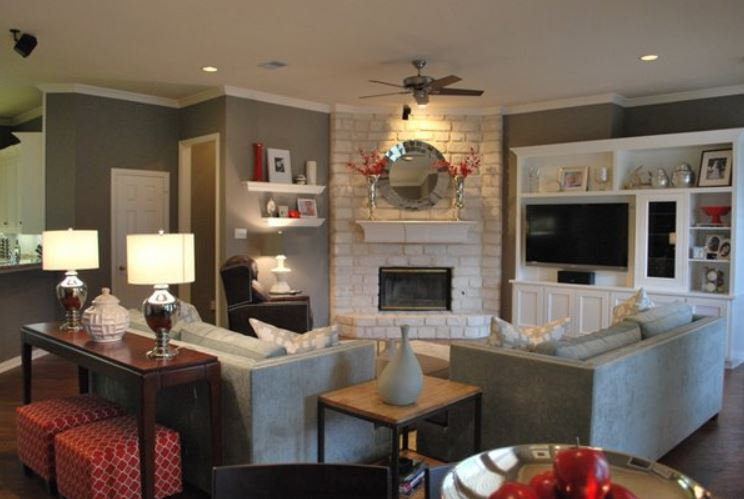 Persimmon accents