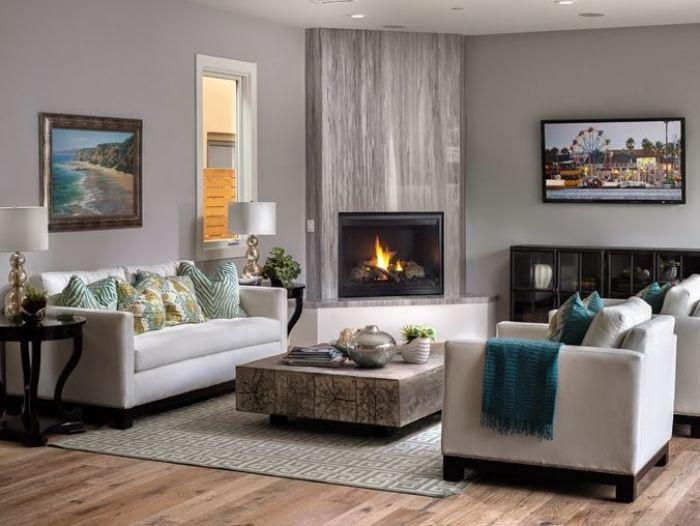 Relaxing living room