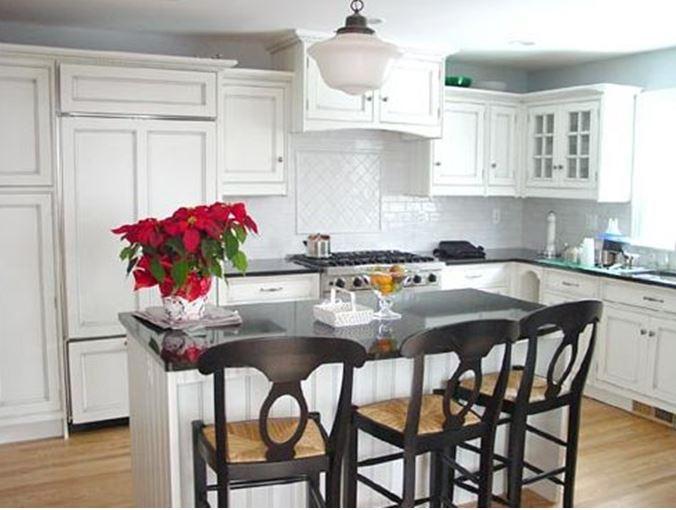combination farmhouse kitchen