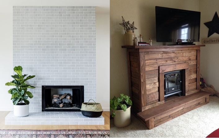 functional of fireplace