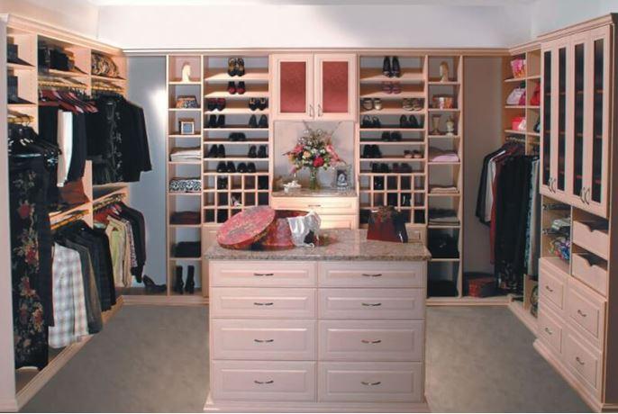 closet layout